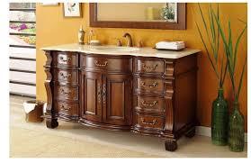 image of 60 inch bathroom vanity single sink ideas