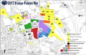Beaver Stadium Parking Chart Yellow Lot 12 Other Football Parking Lots Closed For
