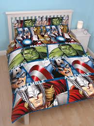 Marvel Avengers Shield Double Duvet Cover and Pillowcase -Kids Bedding &  Adamdwight.com