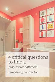 Critical Questions To Choose A Progressive Bathroom Remodeling - Bathroom remodeling cleveland ohio