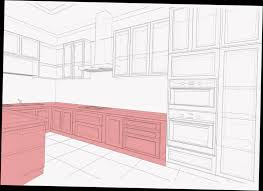 Standard Kitchen Base Cabinet Sizes Chart Standard Kitchen Cabinet Size Guide Base Wall Tall