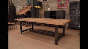Industrial Extending Dining Table Industrial Dining Table