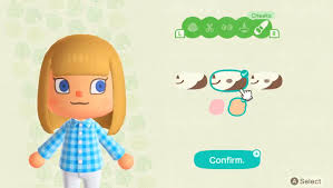 Deep side parting, laterally projecting spikes. Animal Crossing New Horizons Character Customization And How To Change Your Appearance Usgamer