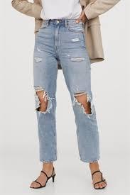 Прямые <b>джинсы</b> - H&M Модные женские <b>джинсы</b>   HMonline.ru ...