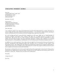 Sample Cover Letter For Finance Manager Job Application Internship I