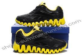 reebok shoes. reebok zig fuel mens black yellow | shoes price -