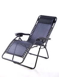 outsunny zero gravity recliner lounge patio pool reclining patio chair cushion reclining patio chair canada