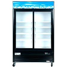 glass door refrigerator freezer combo glass front refrigerator residential co commercial glass door refrigerator freezer combo