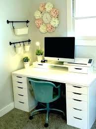 desk organizer ikea desks with storage under makeup plan 10