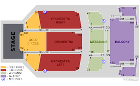 Fox Theater Riverside Seating Chart Primus