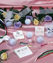 personalized golf tees wedding. personalized golf wedding favors - all items on table tees g