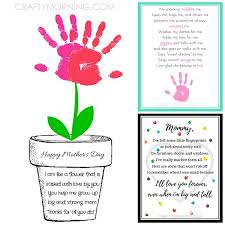 Small Picture 9 Free Mothers Day Printables Poems Crafty Morning