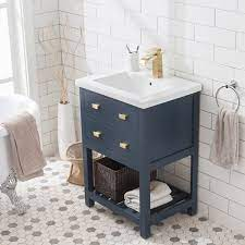 Joss Main Knighten Modern 24 Single Bathroom Vanity Set Reviews Wayfair
