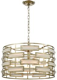 dimond 1141 030 metro silver leaf acid crystal drum pendant lighting loading zoom