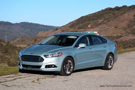 Ford Fusion Hybrid Exterior Front  Picture Courtesy Of - Ford fusion exterior colors