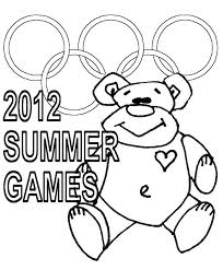 Olympic Games Coloring Pages Psubarstoolcom