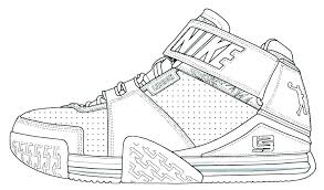 free printable shoe coloring pages free printable jordan shoes coloring pages
