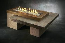 build fire table how build fire pit new coffee tables flame fire pit coffee table uptown brown diy concrete gas fire table