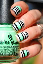Best 25+ Stripped nails ideas on Pinterest | Valentine's day nail ...