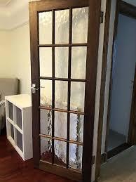 15 glass panel wooden internal door