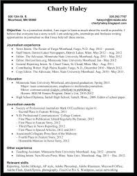 Template Newspaper Story Template Cover Letter Journalism Resume