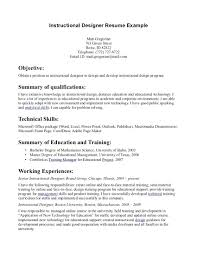 Instructional Design Resume Entry Level Business Analyst Resume Examples Of Resumes