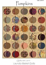 Pumpkin Applique Quilt Pattern & Stencil Set from Laundry Basket ... & Pumpkin Applique Quilt Pattern & Stencil Set from Laundry Basket Quilts Adamdwight.com