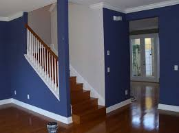 interior house painting cost how much to paint a house interior with blue and white wall colors photos