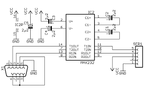 usb port schematic diagram images to usb wiring diagram related this usb to serial port converter circuit diagram