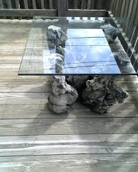 driftwood glass coffee table from merchandise mart orig chicago craigslist full size