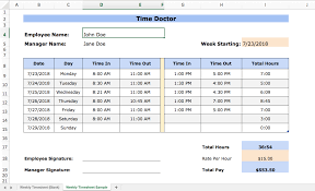 Excel Time Tracking 4 Templates Pros And Cons And Alternatives