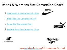 Nike To New Balance Size Comparison