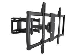 mono le series full motion articulating tv wall mount bracket for tvs 60in to 100in