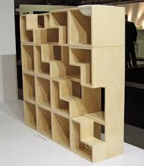 ... Cat Library Bookcase  three-quarter view