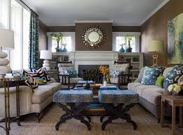 brown and blue living room. Living Room Photo Brown Blue Of 15 Interesting Combination And Rooms O
