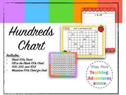 Three Hundred Chart Hundreds Chart