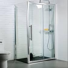 new 1400 x 1950mm sliding shower door 8mm toughened glass ergonomic designs