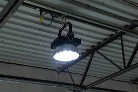 ceiling light wattage watt high power led high bay light fixture shown on installed on warehouse ceiling remove ceiling fan light wattage limiter