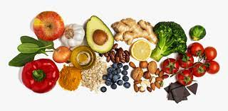 This includes images of vegetables, fruits, meat, dairy. Health Food Healthy Diet Nutrition Healthy Food White Background Hd Png Download Kindpng