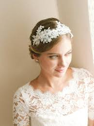 Flower Hair Style lace wedding headband bridal headband flower headband wedding 8620 by wearticles.com