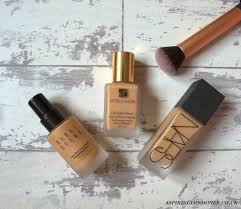 best foundations for oily bination skin ft nars bobbi brown estee lauder aspiring