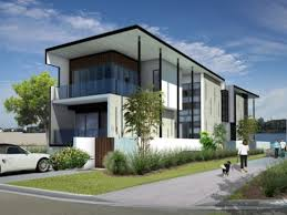 modern residence linear progression architectural concept
