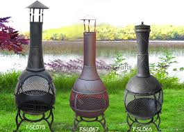 cmc 360 degree chiminea outdoor fireplace 1