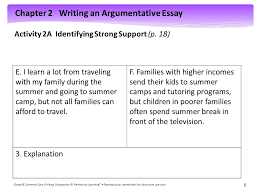 activity a identifying strong support p ppt  activity 2a identifying strong support p 18