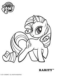 Small Picture Coloriage My Little Pony My Little Pony Coloring Pages Rarity