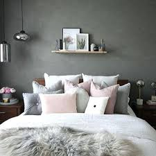 grey and pink bedroom – lillypond