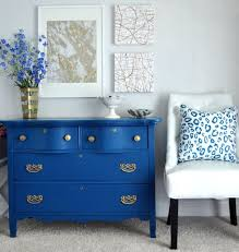 blue furniture. painting old furniture modernize with bold color my colortopiathe colortopia blog blue pinterest