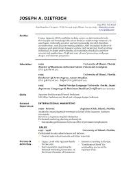 Resume Outline Free Gorgeous Resume Outline Free Trenutno