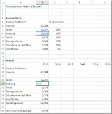 Personal Finances Spreadsheet Build A Personal Finance Spreadsheet Model Spreadsheetsolving