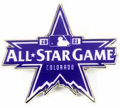 2021 MLB All-Star Game Logo Pin - Colorado